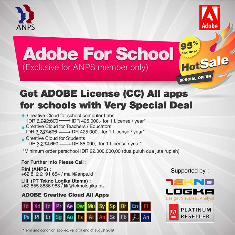 Adobe For School