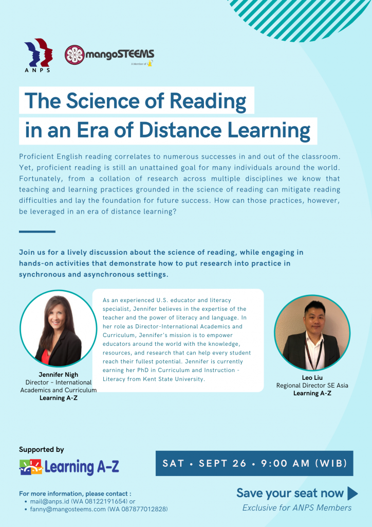 The Science of Reading in an Era of Distance Learning